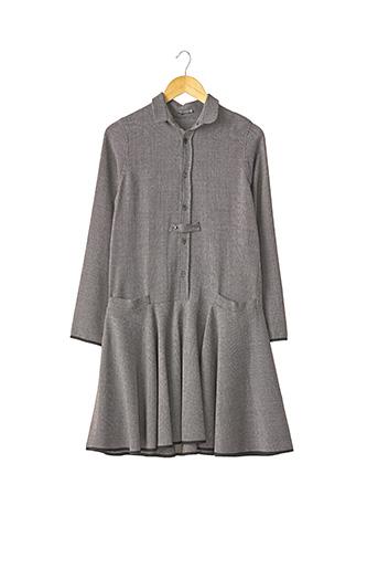 Robe mi-longue noir ALEXIS MABILLE pour femme