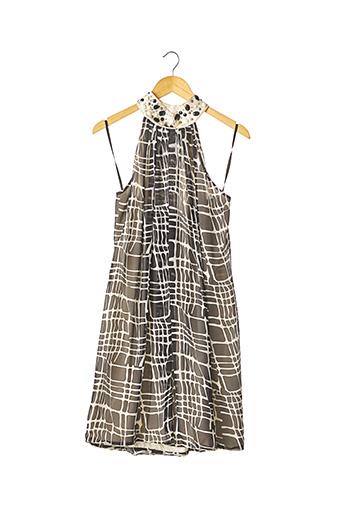 Robe mi-longue noir CBC pour femme