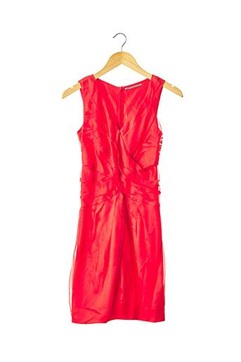 Robe mi-longue rouge ERMANNO SCERVINO pour femme