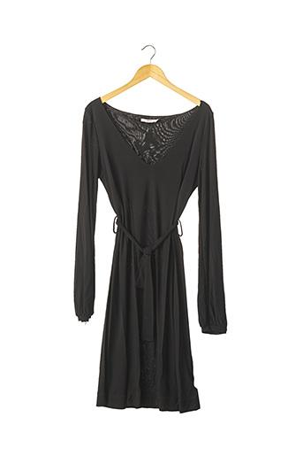 Robe mi-longue noir RED VALENTINO pour femme