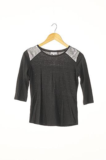 T-shirt manches longues noir CLAUDIE PIERLOT pour femme