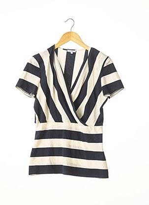 T-shirt manches courtes bleu MAXMARA pour femme
