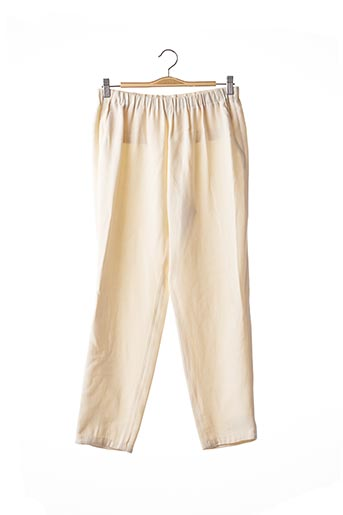 Pantalon casual beige FORTE-FORTE pour femme