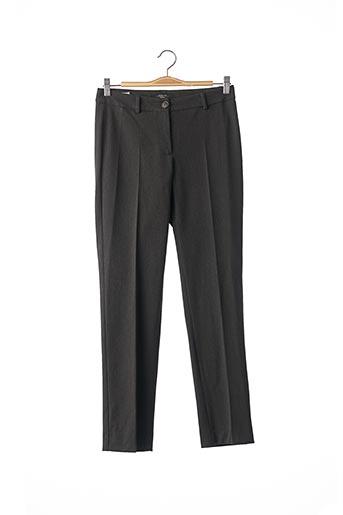 Pantalon casual gris WEEKEND MAXMARA pour femme