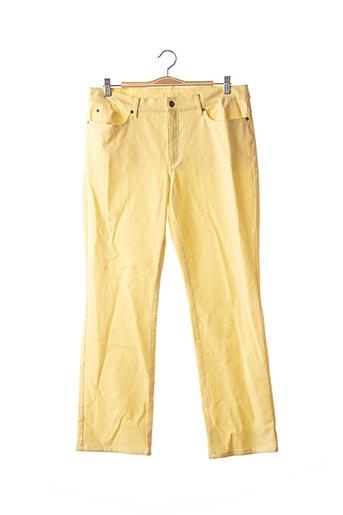 Pantalon casual jaune ESCADA pour femme