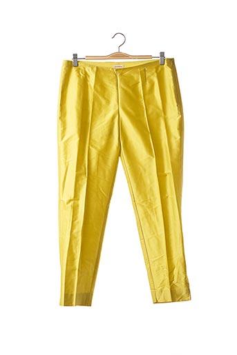 Pantalon casual jaune P.A.R.O.S.H. pour femme