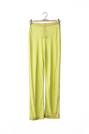Pantalon casual vert CHACOK pour femme