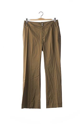 Pantalon casual vert GEORGES RECH pour femme