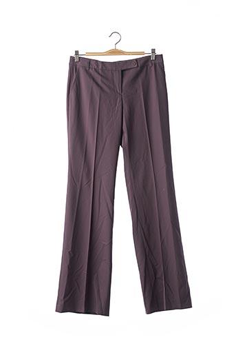 Pantalon casual violet TARA JARMON pour femme
