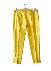Pantalon casual jaune P.A.R.O.S.H. pour femme seconde vue