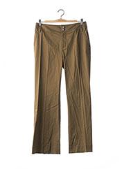 Pantalon casual vert GEORGES RECH pour femme seconde vue