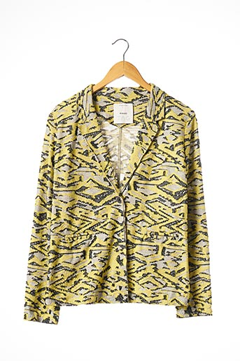Veste casual jaune PINKO pour femme