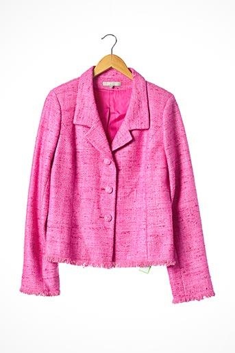 Veste chic / Blazer rose FIGARET pour femme