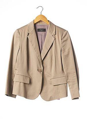 Veste chic / Blazer beige WEEKEND MAXMARA pour femme