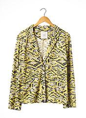 Veste casual jaune PINKO pour femme seconde vue