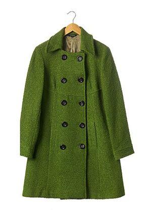 Manteau long vert TARA JARMON pour femme