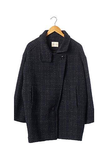 Manteau court bleu JANIS & JOHN pour femme