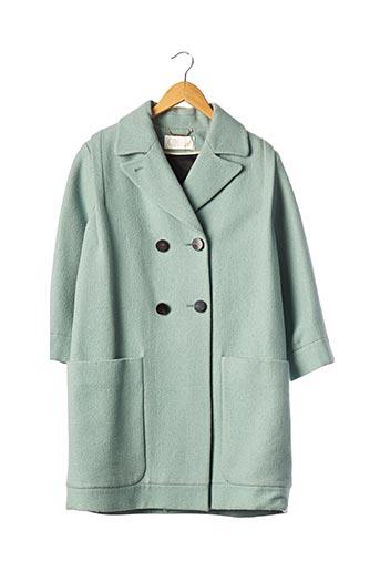 Manteau long bleu CHLOE pour femme