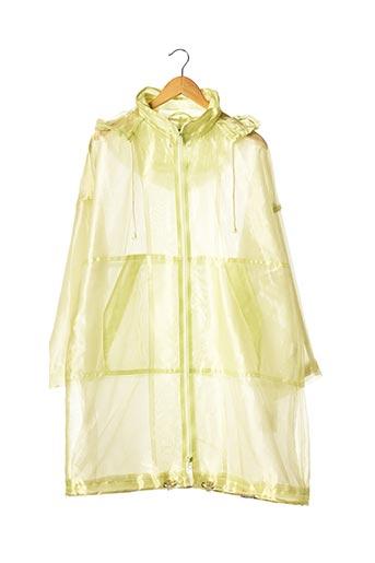 Veste casual vert DAMO pour femme