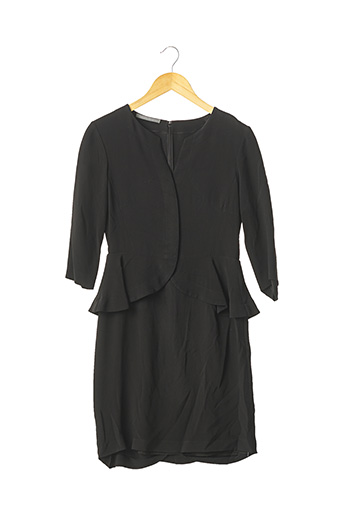 Robe courte noir ALBERTA FERRETTI pour femme