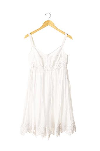 Robe mi-longue blanc DOLCE & GABBANA pour femme
