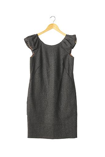Robe mi-longue gris DOLCE & GABBANA pour femme