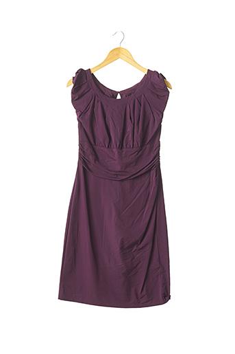 Robe mi-longue violet DIANE VON FURSTENBERG pour femme