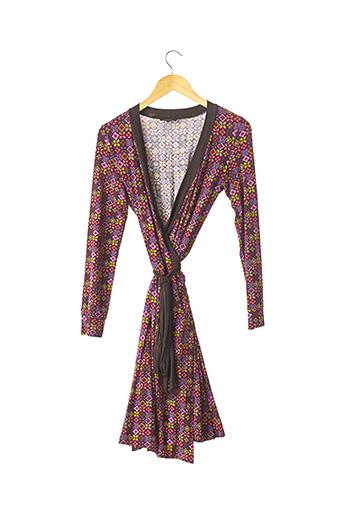 Robe mi-longue violet ETRO  pour femme