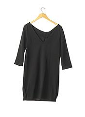 Robe mi-longue noir DIANE VON FURSTENBERG pour femme seconde vue