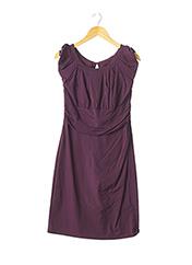 Robe mi-longue violet DIANE VON FURSTENBERG pour femme seconde vue