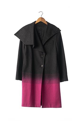 Manteau long rose ALEXANDER MCQUEEN pour femme