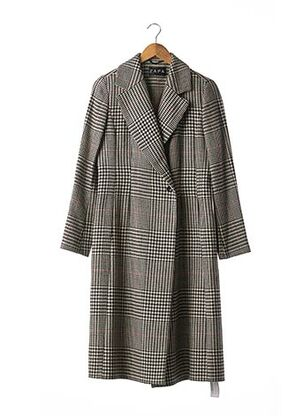 Manteau long noir ZAPA pour femme