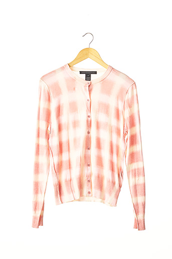 Pull col rond rose MARC JACOBS pour femme