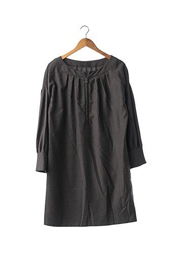 Robe mi-longue gris DEREK LAM pour femme