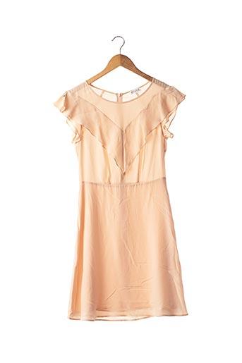 Robe mi-longue rose CLAUDIE PIERLOT pour femme