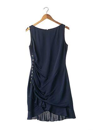 Robe mi-longue bleu AZZARO pour femme