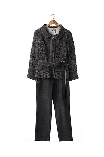 Veste/pantalon gris ANGELO TARLAZZI pour femme