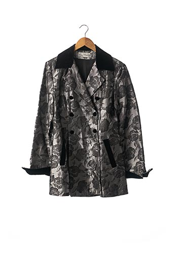 Veste chic / Blazer gris EVA TRALALA pour femme
