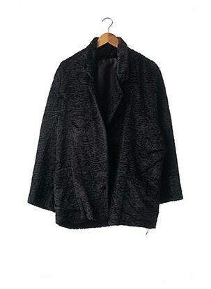 Manteau court noir SANS MARQUE pour femme