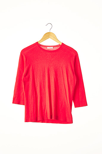 Pull col rond rouge ERIC BOMPARD pour femme