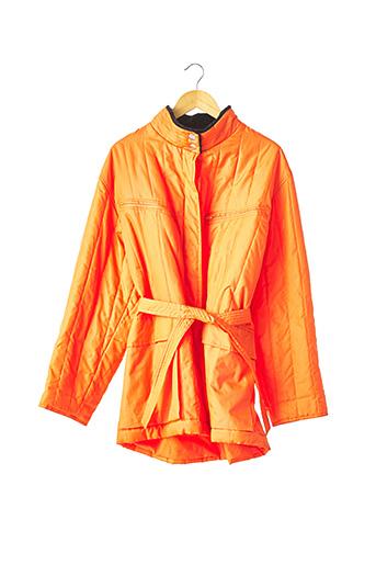 Doudoune orange CASTELBAJAC pour femme