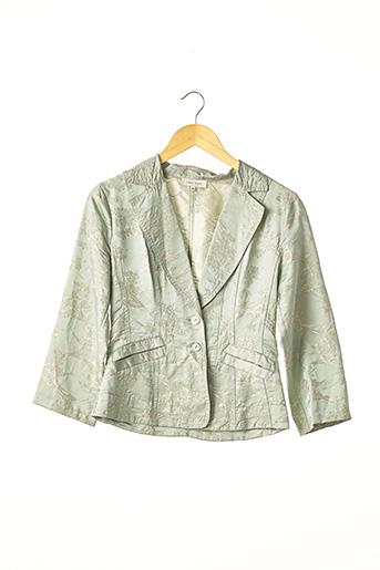 Veste chic / Blazer vert ARMAND VENTILO pour femme