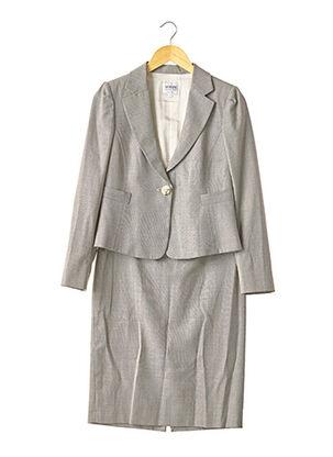 Veste/jupe gris ARMANI pour femme