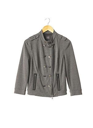 Veste casual gris ARMANI EXCHANGE pour femme