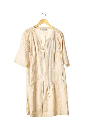 Robe mi-longue beige GERARD DAREL pour femme