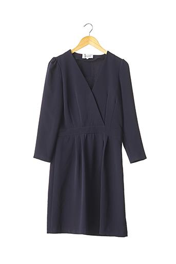 Robe mi-longue bleu APOLUZE pour femme