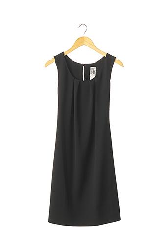 Robe mi-longue noir EN ATTENDANT BEBE pour femme