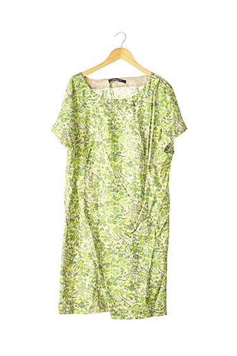 Robe mi-longue vert MARINA RINALDI pour femme