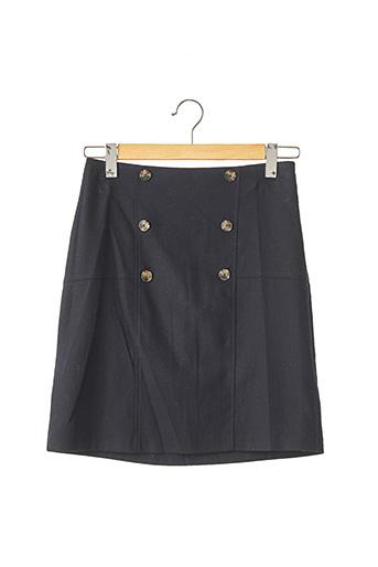 Jupe mi-longue bleu CURLING pour femme