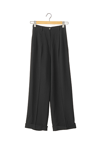 Pantalon casual noir ANTONIO FUSCO pour femme